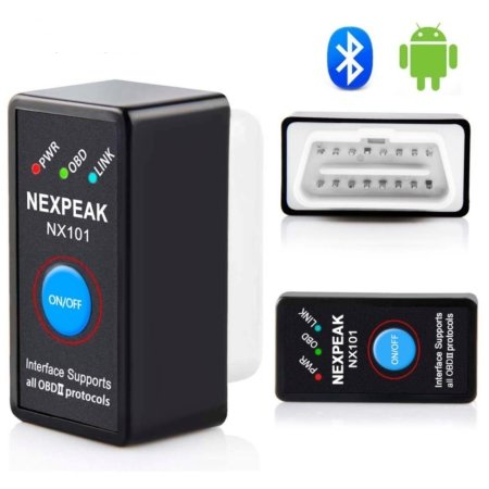 Автомобильный сканер NEXPEAK NX101 ELM327 Bluetooth V1.5 OBD2