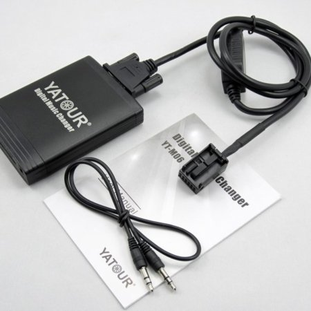 Адаптер USB MP3 Yatour YT M06 для Peugeot Citroen (RD4)