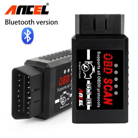 Автомобильный сканер ANCEL ELM 327 BT V1.5 OBD2