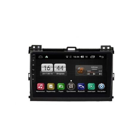 Штатная магнитола FarCar s185 для Toyota Land Cruiser 120 2002-2010 на Android (LY456R)