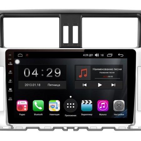 Штатная магнитола FarCar s300-SIM 4G для Toyota Land Cruiser Prado 2009-2013 150 на Android (RG065R)