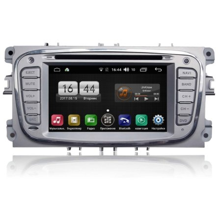 Штатная магнитола Ford Focus, Mondeo, C-Max, Galaxy FarCar s170 Android (L003)