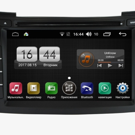 Штатная магнитола Hyundai i40 2012+Android FarCar s170 (L172)