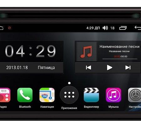Штатная магнитола Jeep, Dodge, Chrysler Android FarCar s200+ (A202)