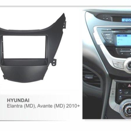 Переходная рамка 2DIN для Hyundai Elantra 2011+ CARAV 11-183