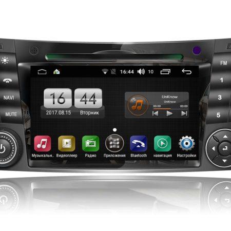 Штатная магнитола для Mercedes E, CLS на Android FarCar s170 (L090)