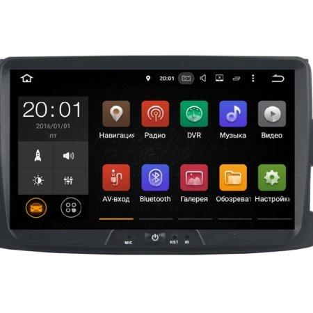 Штатная магнитола для Renault Duster, Sandero, Logan, Lada XRAY на Android FarCar s130H (V157)