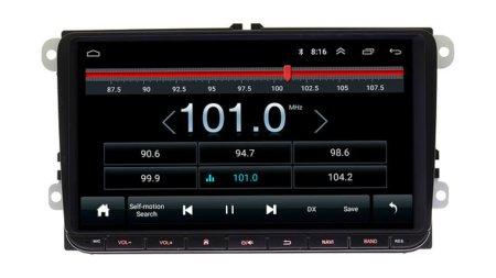 Штатная магнитола для Volkswagen Skoda Wide Media AM-9001 Android