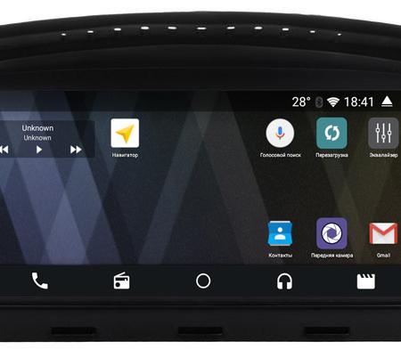 Штатная магнитола Parafar для BMW 5 E60 (03-09); BMW 3 E90-E93 (05-09)на Android 6.0.1 (PF087P)