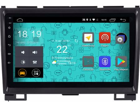 Штатная магнитола Parafar 4G/LTE с IPS матрицей для Great Wall Hover H3, H5 на Android 7.1.1 (PF601)