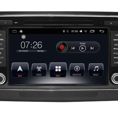 Штатная магнитола Carmedia T10-830 для Skoda SuperB 2009-2013 Android