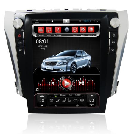 Штатная магнитола в стиле Tesla CarmediaSP-12103-T8 для Toyota Camry 2011+ (V50, V55)