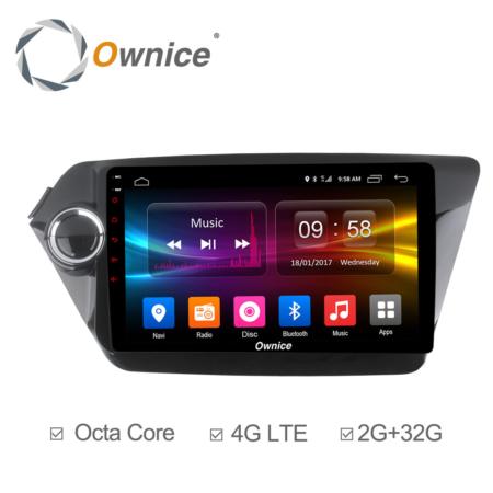 Штатная магнитола Carmedia OL-9731 для KIA Rio 2011+ Android