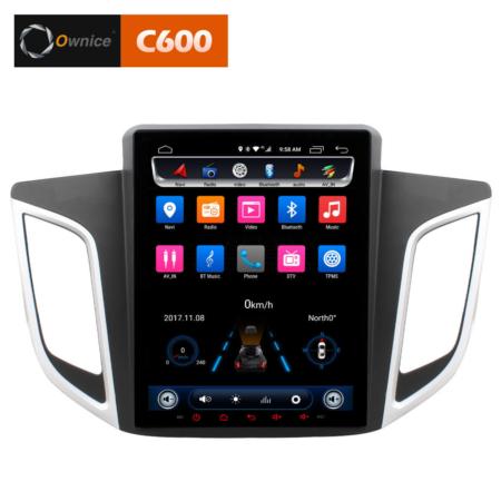 Штатная магнитола в стиле Tesla CarmediaOL-9715-9 для Hyundai Creta Android встроенный 4G/LTE модем