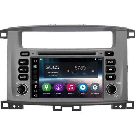 Штатная магнитола FarCar s200 для Toyota Land Cruiser 100, Lexus LX 470 на Android (V457)