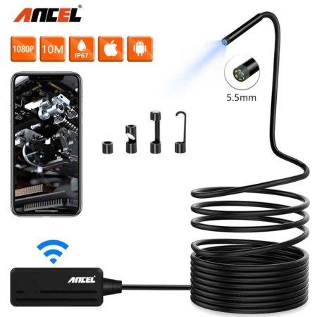 Беспроводной Wi-Fi эндоскоп-камера Ancel