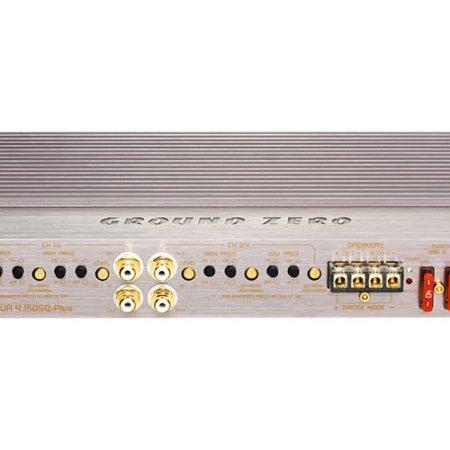 Ground Zero GZUA 4.150SQ-PLUS 4-канальный усилитель