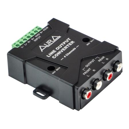 RCA-адаптер высокого уровня AurA RHL-0604