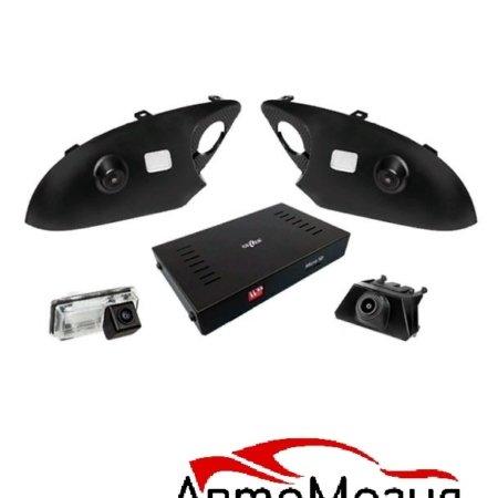 Система кругового обзора для Toyota Land Cruiser 200 (J200) 2007+ 4 камеры
