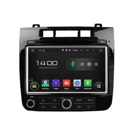 Штатная магнитола для Volkswagen Touareg 2011-2014 на Android 9 CARMEDIA KD-8009-P5