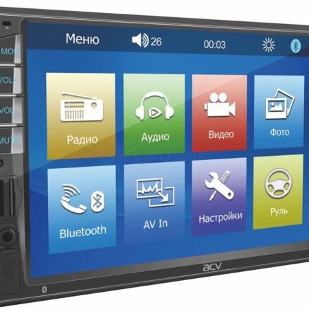 Магнитола 2din с Bluetooth и MirrorLink ACV WD-7040
