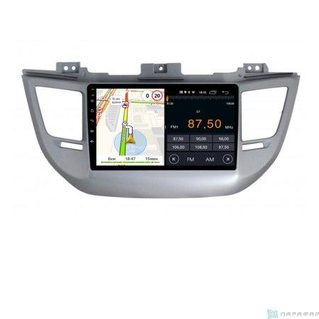 Штатная магнитола Parafar для Hyundai Tucson 2015-2018 на Android 8.1.0 (PF546LTX)
