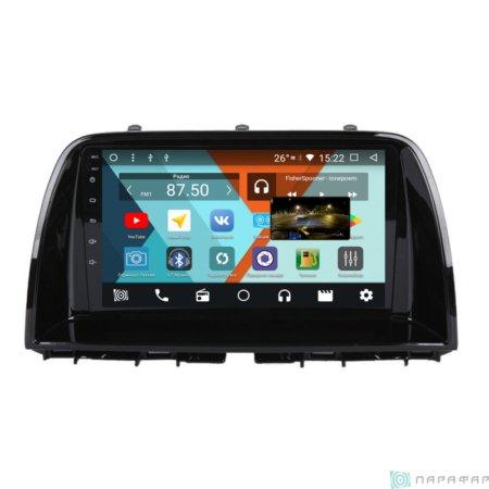 Штатная магнитола Parafar с IPS матрицей для Mazda CX-5 2012+ на Android 8.1 (PF984K)