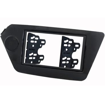 Переходная рамка 2DIN для Kia Rio 2011+ Intro RKIA-N28-G - цвет Серый
