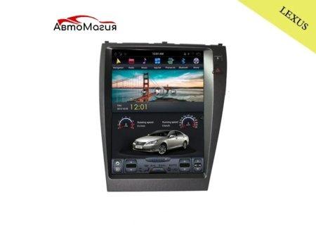 Штатная магнитола для Lexus ES (2006-2012) CarMedia ZF-1118 в стиле Tesla