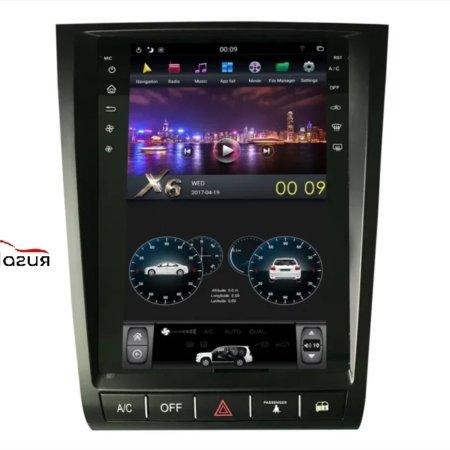 Штатная магнитола для Lexus GS (2004-2011) CarMedia ZF-1252 в стиле Tesla