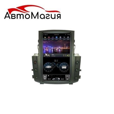 Штатная магнитола для Lexus LX 570 (2007-2015) CarMedia ZF-1819 в стиле Tesla