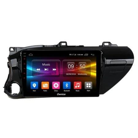 Штатная магнитола CARMEDIA OL-1686-P30 для Toyota Hilux 2015+ на Android