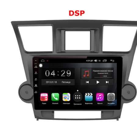 Штатная магнитола FarCar s300-SIM 4G для Toyota Highlander 2007-2013 на Android (RG035R)