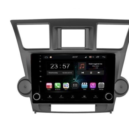 Штатная магнитола FarCar s300-SIM 4G для Toyota Highlander 2007-2013 на Android (RG035RB)