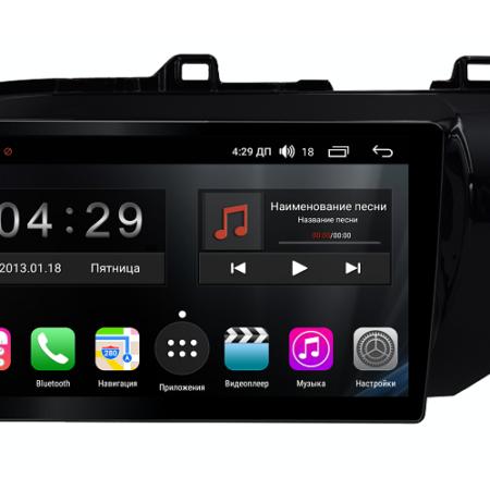 Штатная магнитола FarCar s300-SIM 4G дляToyota Hilux 2015+ на Android (RG1077R)