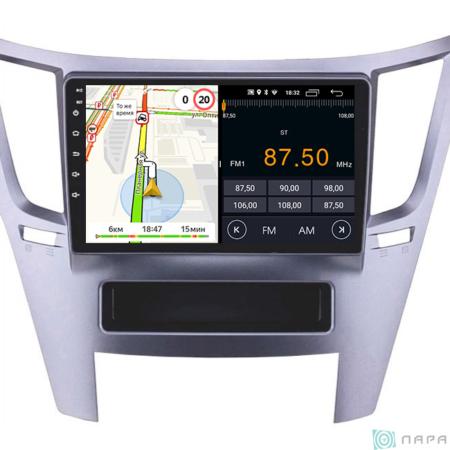 Штатная магнитола Parafar для Subaru Legacy 2009-2014, Outback 2009-2014 на Android 8.1.0 (PF794LTX)