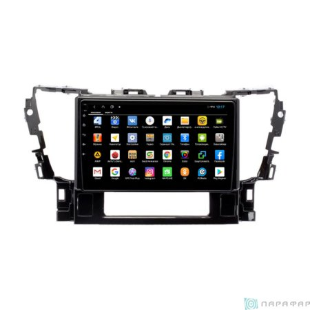 Штатная магнитола Parafar для Toyota Alphard 2015 (Uv Black) на Android 8.1.0 (PF694XHD)