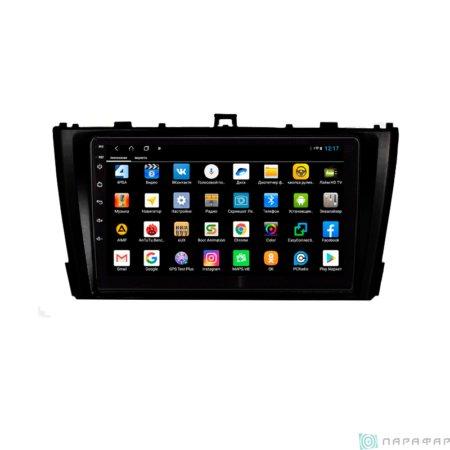 Штатная магнитола Parafar для Toyota Avensis 2012 на Android 8.1.0 (PF699XHD)