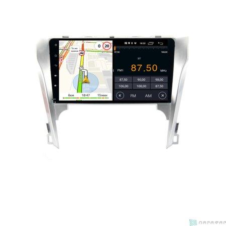 Штатная магнитола Parafar для Toyota Camry 2011-2014 V50 на Android 8.1.0 (PF131LTX)