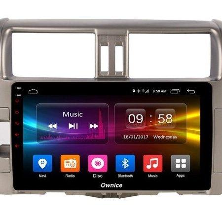 Штатная магнитола CARMEDIA OL-9613 для Toyota Land Cruiser Prado 150 2009-2013 на Android
