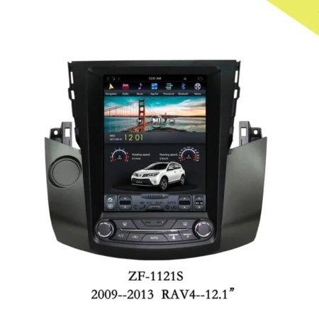 Штатная магнитола CarmediaZF-1121 для Toyota RAV42006-2012 Android в стиле Tesla