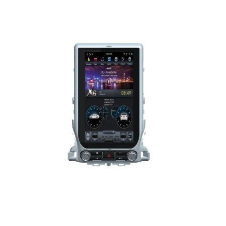Штатная магнитола Carmedia ZF-1807H-DSP для Toyota Land Cruiser 200 2015+ android в стиле tesla