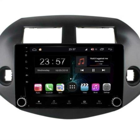 Штатная магнитола FarCar s300-SIM 4G для Toyota RAV-4 2006-2012 на Android (RG018RB)