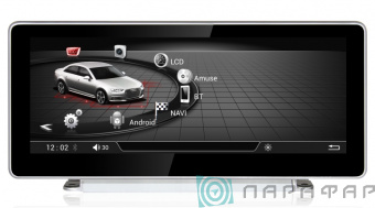 Штатная магнитола Parafar Андройд для Audi A4 2016+ A5 2017+ Q5 2017+ (PF9805A7)