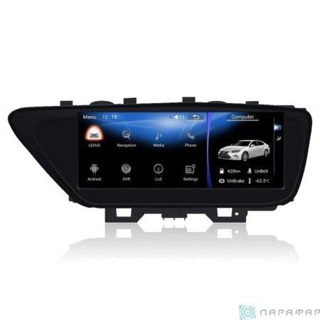 Штатная магнитола Parafar Андройд для Lexus ES 2013-2017 экран 10.25 (PF3810)