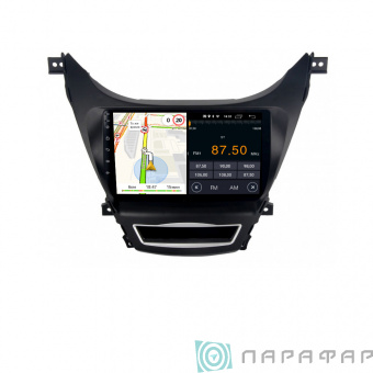 Штатная магнитола Parafar для Hyundai Elantra 2010-2013 на Android 8.1.0 (PF360LTX)