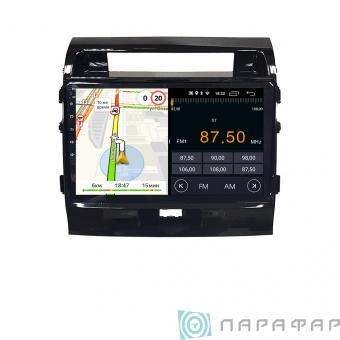 Штатная магнитола Parafar для Toyota Land Cruiser 200 2007-2015 на Android 8.1.0 (PF381LTX)