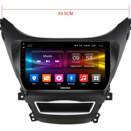 Штатная магнитола CARMEDIA OL-9706-P30 для Hyundai Elantra 2013-2016 на Android