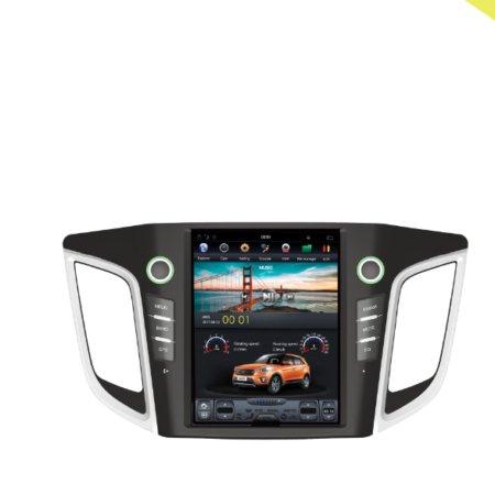 Штатная магнитола в стиле Tesla Carmedia ZF-1105 для Hyundai Creta 2016+ Android