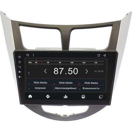 Штатная магнитола AM для Hyundai Solaris 2010-2017 на Android